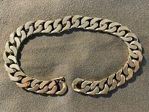 Herren Armband Armkette Silberarmband echt 925 Silber massiv, 22,5 cm schwer TOP