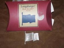 Longaberger 2001 Old Glory Basket Tie-On Pin