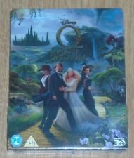Oz The Great & Powerfull (blu-ray 3D & 2D) Steelbook. NEW & SEALED (UK release)