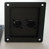 Speaker Amplifier Speaker Speak-On Box Audio Connector Plate Patch Panel Kit