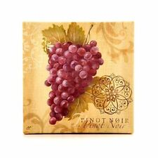 "Pinot Noir Wine Grapes Kitchen Framed Art Print Wall Home Décor Picture 6"" New"