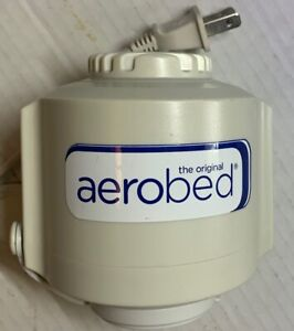 Aerobed OEM REPLACEMENT PUMP Model R103H Standard Wall Plug (TESTED)