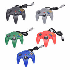 Wired Game Retro Long Handle Controller Joystick for Nintendo 64 N64 Gamepad UK