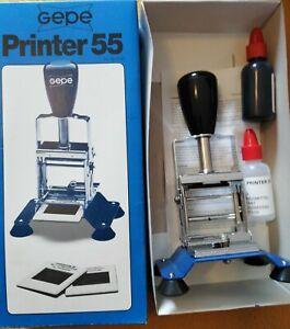 TOP Zustand! GEPE Printer 55 Dia-Drucker