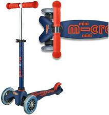 Micro Scooters MICRO SCOOTER NAVY MINI DELUXE Outdoor Toy BN