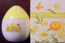 "Vintage 1974 Avon ""BUTTERCUP SALT SHAKER"" Imperial Garden Cream Sachet 1.5 oz."