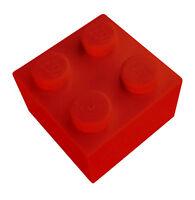 Lego 50 Stück rote Steine 2x2 (3003) Neu Stein in rot Basicsteine Bausteine City
