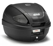GIVI Monolock Topcase E300 Tech, schwarzmatt, inkl. Adapterplatte, E300NT2