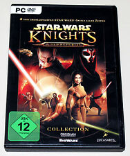 STAR WARS - KNIGHTS OF THE OLD REPUBLIC COLLECTION PC DVD SITH LORDS KOTOR I II