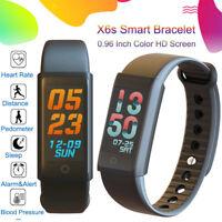 X6S Écran Couleur Sport Rythme Cardiaque Smart Bracelet Watch Montre intelligent