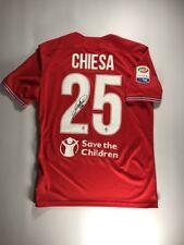 ACF Fiorentina Federico Chiesa Signed Red Jersey Maglia Autografata