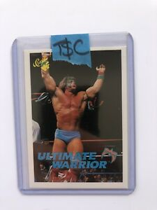 1990 Classic WWF Ultimate Warrior Rookie Card