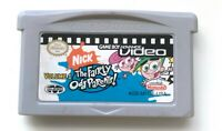 GBA VIDEO: THE FAIRLY ODDPARENTS VOLUME 1 NINTENDO GAMEBOY ADVANCE SP