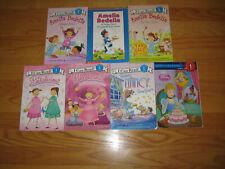 Lot of 7 Books Classroom LEVEL 1 Step Into Reading DISNEY Princesses, FancyNancy