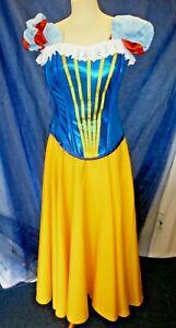 Beautiful Corset Top Snow White - Ex-Hire Fancy Dress Costume Size 12