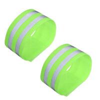 2/4 Pcs Reflective Elastic Band Safety Armband Safety Strap for Jogging Cycling