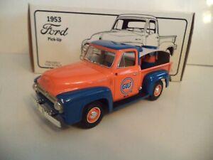FIRST GEAR FORD GULF PRIDE 1953   1/30TH SCALE   IN  BOX