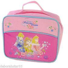 Girls Insulated Pink Disney Princess Lunch Bag