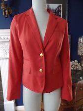 BANANA REPUBLIC Classic Organe Button Front Blazer Jacket 6