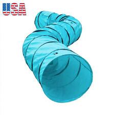 Dog Pet Agility Training Tunnel Outdoor Dog Obedience Exercise Games Runway Set