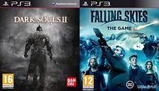 dark souls 2 & falling skies the game  NEW&SEALED   ps3  pal