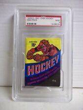 1978 O-Pee-Chee Wax Pack PSA Mint 9 Possible Bossy RC, Taylor RC, Orr NHL HOF
