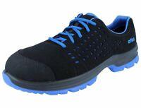 ATLAS SL 40 blue S1 SRC ESD Damen Herren Sicherheitsschuhe schwarz blau Weite 10