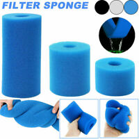 Cleaning Reusable Swimming Pool Filter Sponge Washable Spa Accessories Cartridge