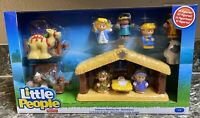 Fisher Price Little People Nativity Set Christmas Children's Set 11 Figures New