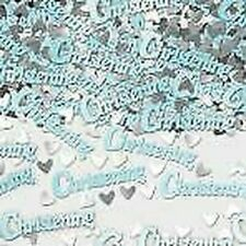 BOYS CHRISTENING BLUE TABLE CONFETTI SPRINKLES 14G BAG TABLE DECORATIONS