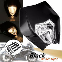 Motorcycle Headlamp Headlight For Enduro Motocross Dirt Bike EXC
