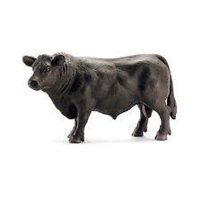 V5) SCHLEICH (13766) Neg Angus CHICO Animales VACA TERNERITO