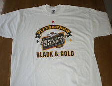 STEELERS MILLER GENUINE DRAFT MGD BLACK & GOLD XL T-SHIRT