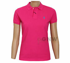 Ralph Lauren Women SKINNY Polo T-shirt Short Sleeve With Tags S Light Pink