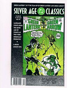 DC SILVER AGE CLASSICS GREEN LANTERN #76 (1982)  DENNY O'NEIL & NEAL ADAMS