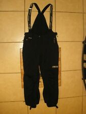 Mens SPYDER XT Black Nylon Ski Snowboard Snow tubing Suspenders PANTS XL Reg