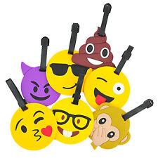 Luggage Tags Bag Tags Travel Tags Various Emoji Expressions Supplied 1 Randomly