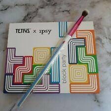TETRIS™ X IPSY Block Party Eyeshadow Palette and Tapered Blending Brush