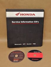 1966-03 Honda Motorcycle ATV Scooter Dealer Service Info Bulletins CD Binder Lot