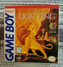 The Lion King Nintendo Game Boy Very Good Condition