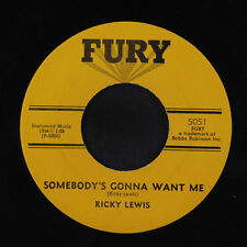 RICKY LEWIS: Somebody's Gonna Want Me 45 Soul