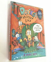 Rockos Modern Life: The Complete Series (DVD, 2013, 8-Disc Set) All 52 Episodes