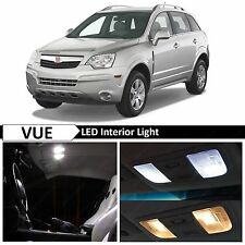 12x White LED Light Interior Package Kit for 2005-2009 Saturn Vue + TOOL