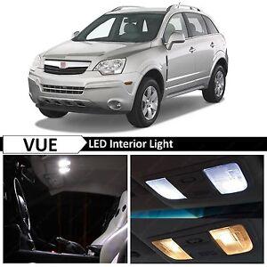 12x White LED Light Interior Package Kit for 2005-2009 Saturn Vue