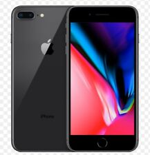 New Apple iPhone 8 PLUS Space Grey,64 GB UNLOCKED , with Case/Charger