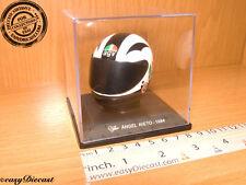 ANGEL NIETO  MOTO-GP AGV HELMET CASCO CASQUE 1/5 1984 MINT!!!