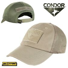 CAPPELLO BERRETTO MESH CONDOR TACTICAL CAP ORIGINALE US ARMY MILITARE SOFTAIR TK