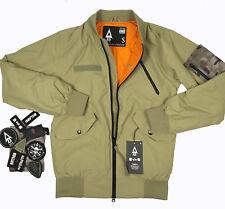 New UNDEFEATED Alpha Industries Burton MA-1 Flight Bomber Jacket!  Tannish Olive