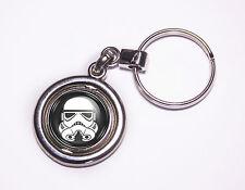 Cool Star Wars Stormtrooper Galactic Empire Spinner Keyring