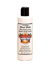 Hawaiian MAUI BABE ULTRA MOISTURIZING HAND & BODY LOTION 8oz - Macadamia Nut Oil